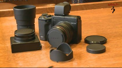 Ricoh GRX : interchangeable compact camera system