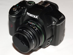 Pentax k-x with 70mm f/2.4 Limited pancake lens