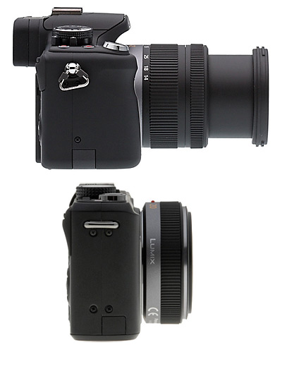 Panasonic G2 with 14-42mm and GF1 and 20mm f/1.7