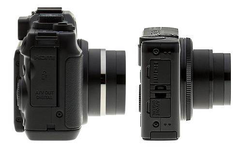 canon g11 vs canon s90 side view