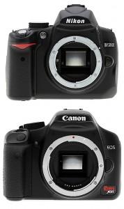 Nikon D5000 Vs Canon Xsi 450d