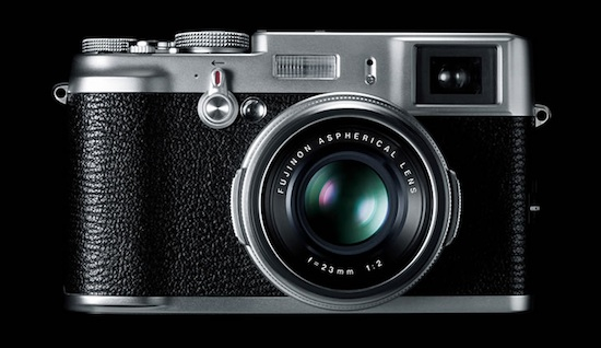 Finexpix X100 looks like classic rangefinder camera