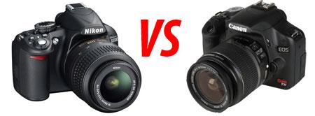 Nikon vs Canon | Fotografia