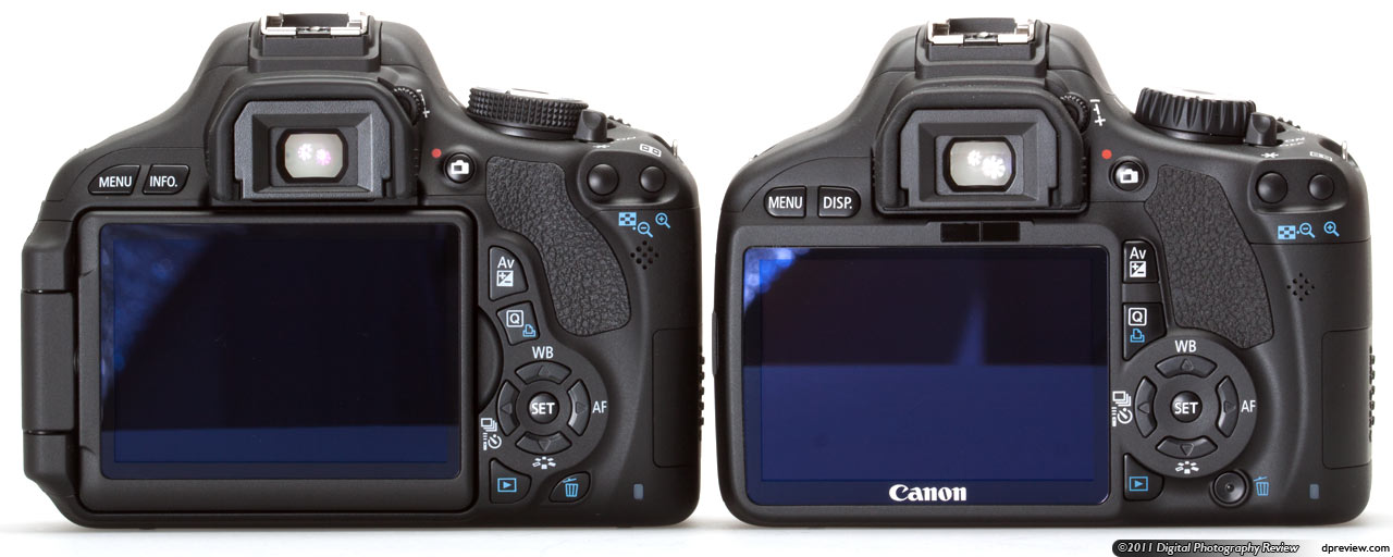 Canon 600D vs T3i