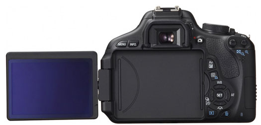 T3i swivel LCD is similar to Canon 60D's