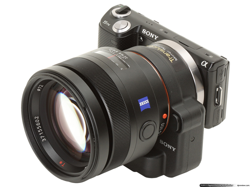 Sony NEX 5N with SLT Adapter