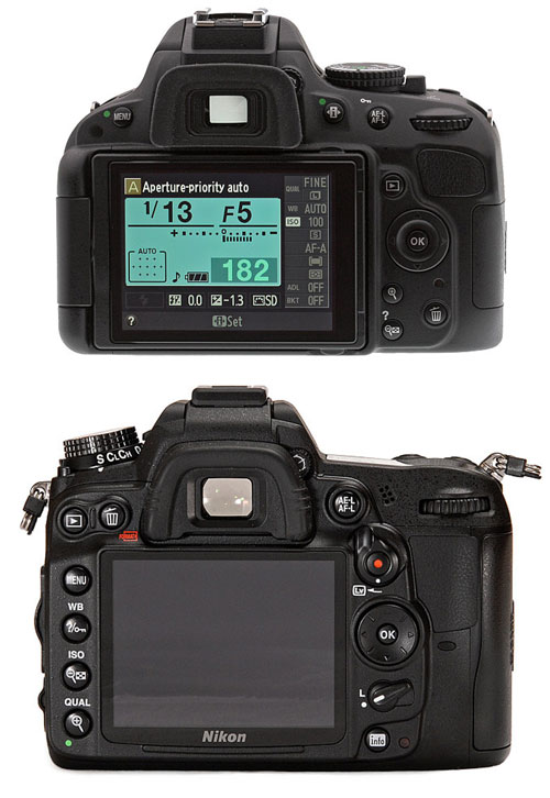 Top: Nikon D5100 vs Bottom: Nikon D7000
