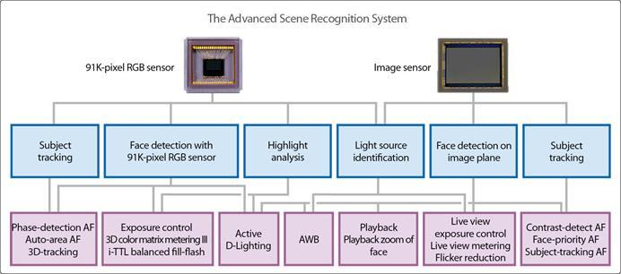 Nikon complex scene recognition