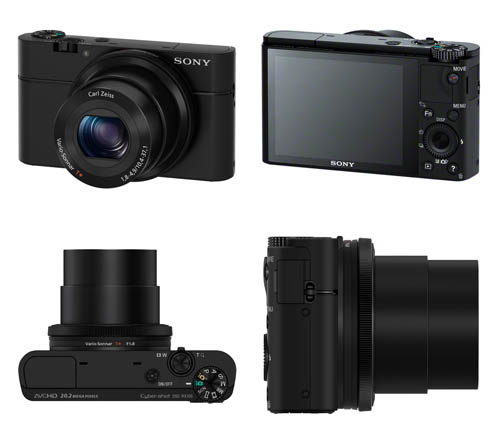 Sony RX100 digital compact camera