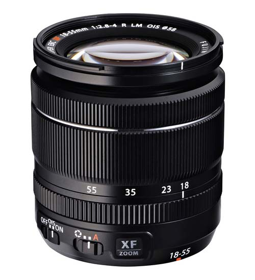 Fuji 18-55mm lens