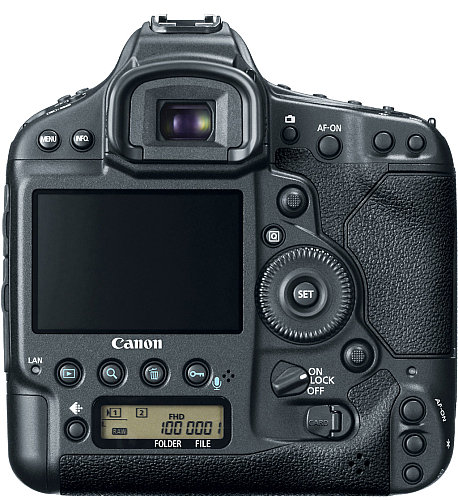 Canon 1DX back - look at the buttons :)