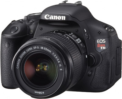 Canon T3i, one of the best seller DSLR camera today