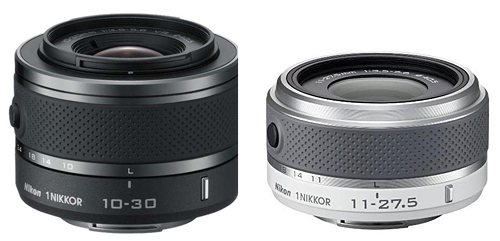 Left: Nikon 10-30mm, Right: Nikon 11-27.5mm