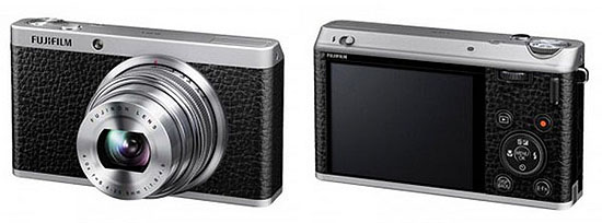 Fuji XF1 front and back