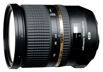 Tamron 24-70mm f/2.8 VC USD - first 24-70mm with image stabilization