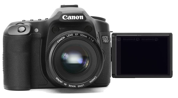 Canon 70D offers articulating LCD screen and a well balance camera for hobbyist or semi-professionals